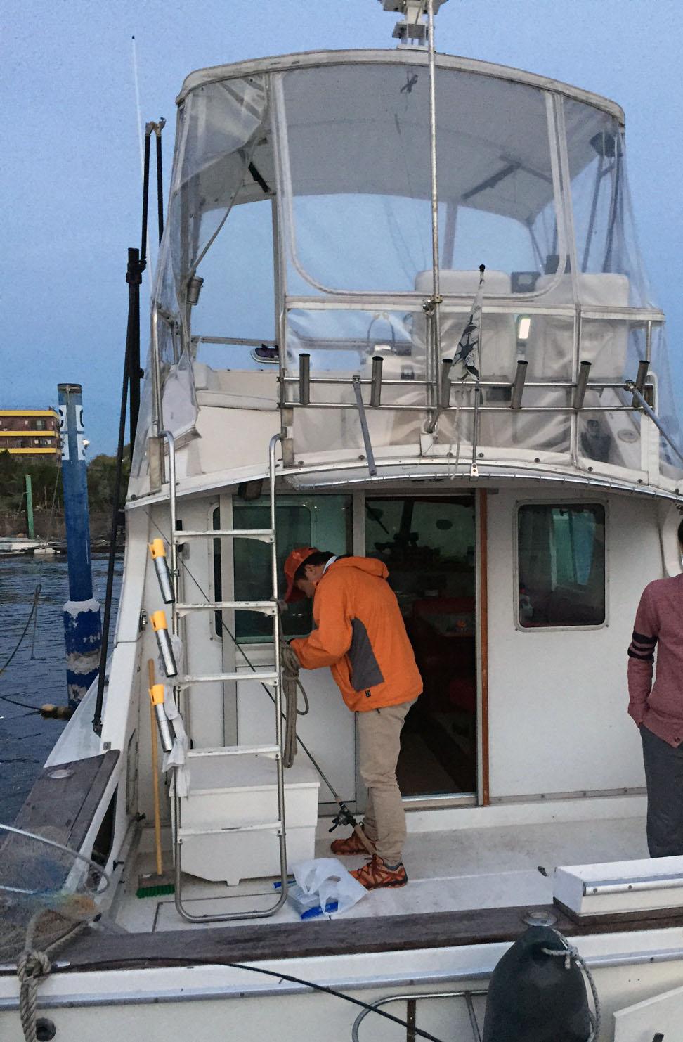 2015年11月1日船釣り3回目