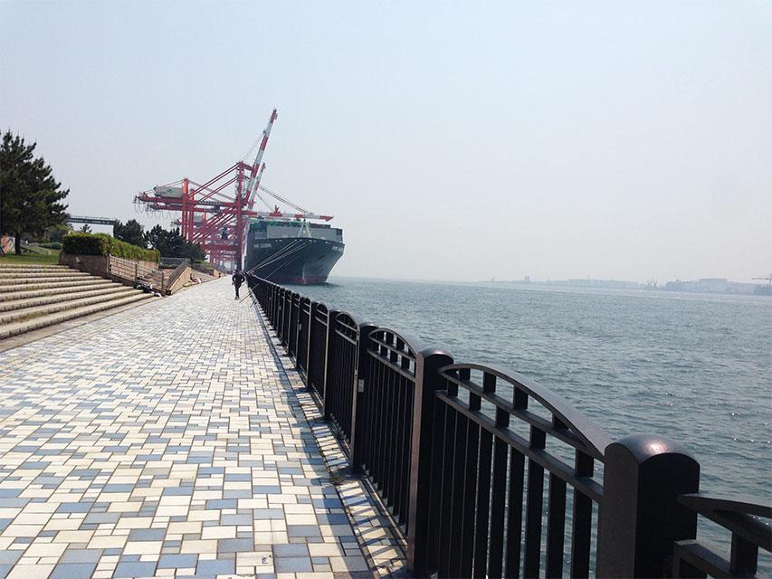 2016年5月1日 青海南ふ頭公園 久々の海とシーバスルアー!