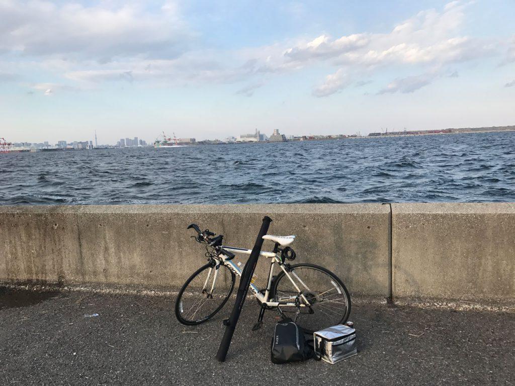 2017年3月11日 城南島海浜公園 久々の釣りで大物ヒット!?