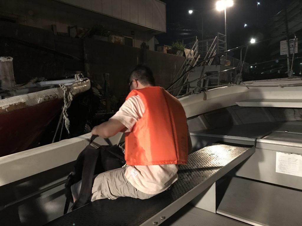 2017年7月22日 横浜沖堤防 楽しいアジング!
