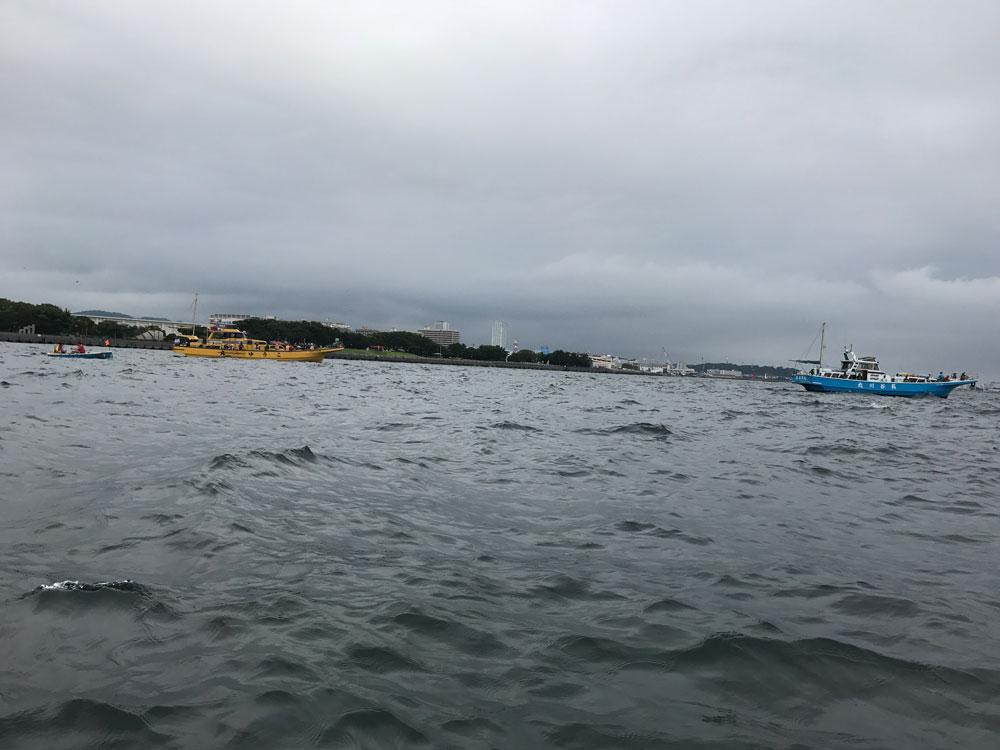 2017年8月10日 京急大津まるまつ丸 ボートでタチウオ!