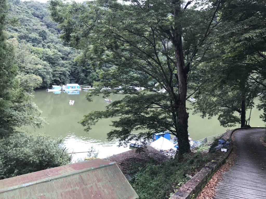 2017年9月24日相模湖でわかさぎ釣り
